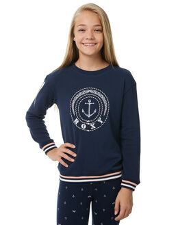DRESS BLUES KIDS GIRLS ROXY JUMPERS + JACKETS - ERGFT03263BTK0