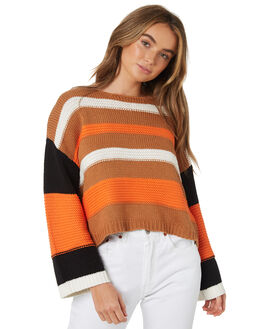MULTI WOMENS CLOTHING TWIIN KNITS + CARDIGANS - IE19S1801MUL
