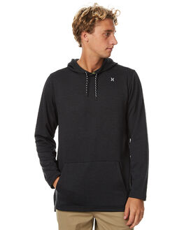 BLACK MENS CLOTHING HURLEY JUMPERS - MKT000606000A