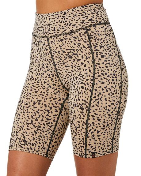 ANIMAL PRINT WOMENS CLOTHING VOLCOM SHORTS - B0912100ANM