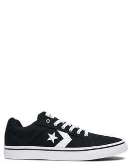 BLACK MENS FOOTWEAR CONVERSE SNEAKERS - 167008CBLK