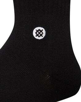 BLACK MENS CLOTHING STANCE SOCKS + UNDERWEAR - M556D18ICPBLK
