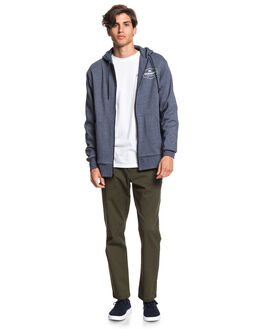 NAVY IRIS MENS CLOTHING QUIKSILVER JUMPERS - EQMFT03055-BTL0