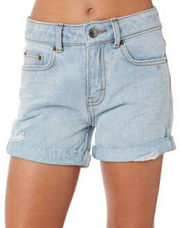 SALT BLUE KIDS GIRLS RUSTY SHORTS + SKIRTS - WKG0001SLTBL
