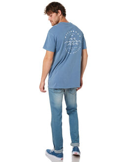 BLUE SLATE MENS CLOTHING BILLABONG TEES - 9582100MBLSLT