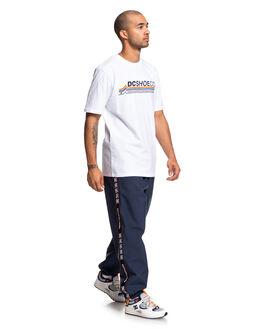 SNOW WHITE MENS CLOTHING DC SHOES TEES - UDYZT03665-WBB0