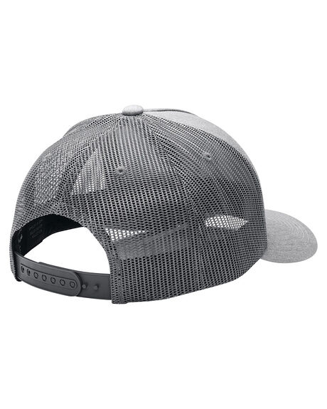 HEATHER GREY MENS ACCESSORIES NIXON HEADWEAR - C1862070