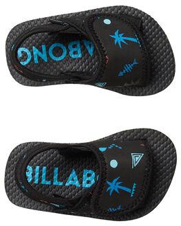 BLACK KIDS BOYS BILLABONG FOOTWEAR - 7682937BLK