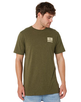 OLIVE MARLE MENS CLOTHING SWELL TEES - S52011009OLVMA
