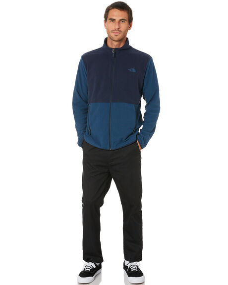 TEAL URBAN NAVY MENS CLOTHING THE NORTH FACE JACKETS - NF0A4AJC3RC