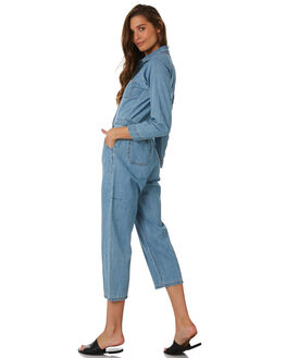 THRIFT BLUE WOMENS CLOTHING THRILLS PLAYSUITS + OVERALLS - WTDP-912ETBLU