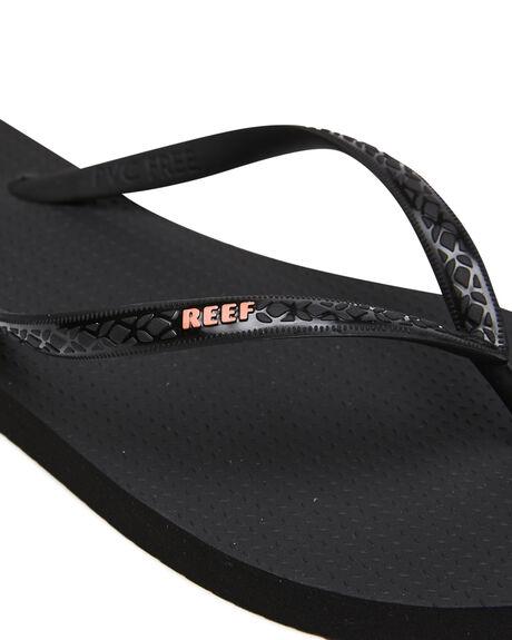 BLACK CORAL WOMENS FOOTWEAR REEF THONGS - CI5080KCL