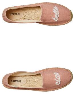 LIGHT PINK WOMENS FOOTWEAR SOLUDOS SLIP ONS - 100030684
