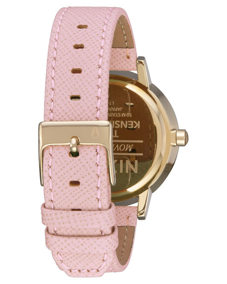 LIGHT GOLD PALE PINK WOMENS ACCESSORIES NIXON WATCHES - A1082813