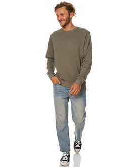 OLIVE MENS CLOTHING SWELL JUMPERS - S5173451OLV