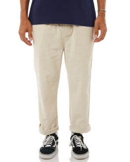 SAND MENS CLOTHING STUSSY PANTS - ST085601SND