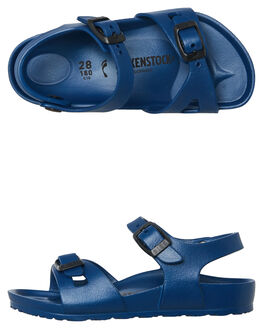 NAVY KIDS TODDLER BOYS BIRKENSTOCK FOOTWEAR - 126123NAVY