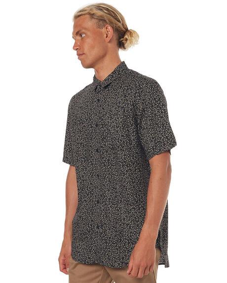 BLACK MENS CLOTHING GLOBE SHIRTS - GB01724004BLK