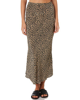 LEOPARD WOMENS CLOTHING THRILLS SKIRTS - WTH9-302ZLEO