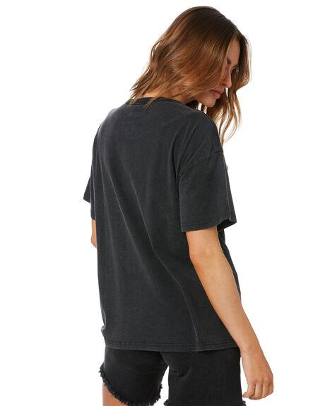 VINTAGE BLACK WOMENS CLOTHING UNIVERSAL TEES - WHIT032VBLK