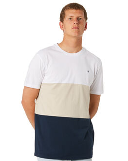 OPTIC WHITE MENS CLOTHING ELEMENT TEES - 184005OPWHT