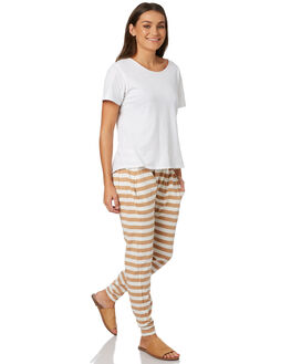 TAN WOMENS CLOTHING SILENT THEORY PANTS - 6008041TAN