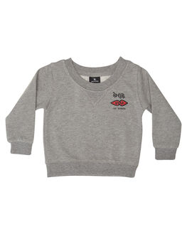 GREY MARLE KIDS TODDLER BOYS RIP CURL JUMPERS - OFEZN30085