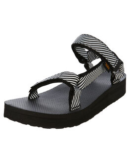 CANDY STRIPE WOMENS FOOTWEAR TEVA FASHION SANDALS - T1090969CSBK