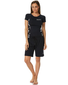 ANTHRACITE WOMENS CLOTHING ROXY SHORTS - ERJBS03087KVJ0