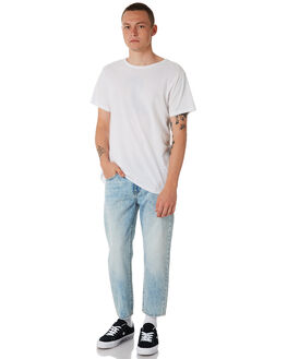 LIGHT BLUE WASH MENS CLOTHING DR DENIM JEANS - 1630114-G90