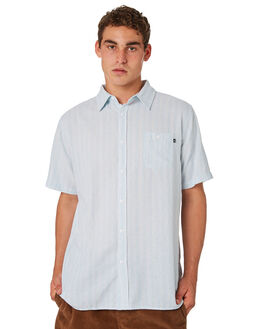 WHITE MENS CLOTHING RUSTY SHIRTS - WSM0892WHI