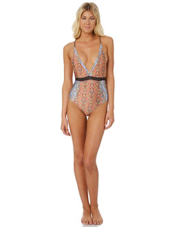 RUST WOMENS SWIMWEAR NINE ISLANDS ONE PIECES - M8184350RUST