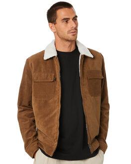 TAN MENS CLOTHING MISFIT JACKETS - MT005506TAN