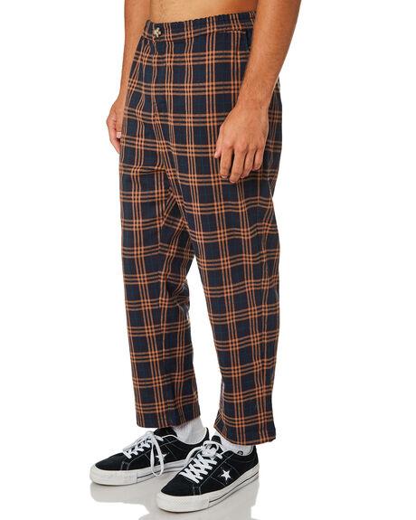 ORANGE NAVY MENS CLOTHING STUSSY PANTS - ST095608ORNVY