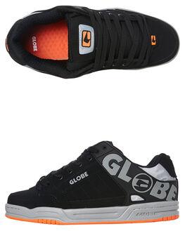 BLACK GREY MENS FOOTWEAR GLOBE SNEAKERS - GBTILT_20087