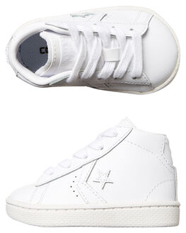 WHITE WHITE KIDS TODDLER BOYS CONVERSE FOOTWEAR - 758171WHI