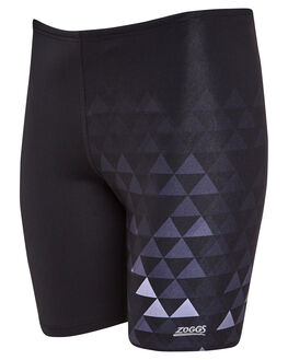 BLACK GREY MENS CLOTHING ZOGGS SWIMWEAR - 4045203BLKGR