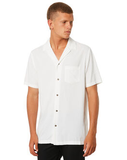 OFF WHITE MENS CLOTHING BANKS SHIRTS - WSU006OWH