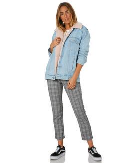WALK AWAY WOMENS CLOTHING A.BRAND JACKETS - 71523-3077
