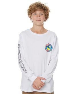 WHITE KIDS BOYS RUSTY TEES - TTB0540WH1