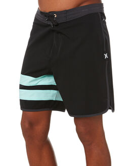 BLACK MENS CLOTHING HURLEY BOARDSHORTS - CJ5090010