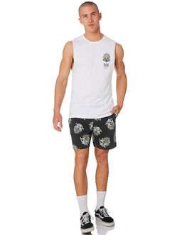 BLACK MENS CLOTHING RIP CURL BOARDSHORTS - CBOUV10090