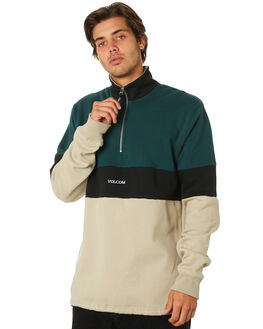 EVERGREEN MENS CLOTHING VOLCOM JUMPERS - A4631907EVR