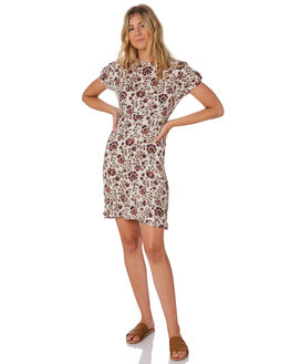OASIS FLORAL WOMENS CLOTHING THE HIDDEN WAY DRESSES - H8203441OAFLO