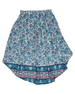 INDAH BLUE KIDS TODDLER GIRLS SWEET CHILD OF MINE SHORTS + SKIRTS - BILLYSKIRT-IND