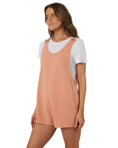 BLUSH WOMENS CLOTHING RHYTHM PLAYSUITS + OVERALLS - OCT18W-JS01BLS