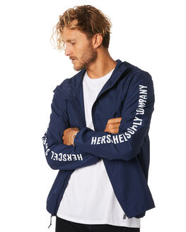 PEACOAT SLEEVE PRINT MENS CLOTHING HERSCHEL SUPPLY CO JACKETS - 15001-00137PEACT