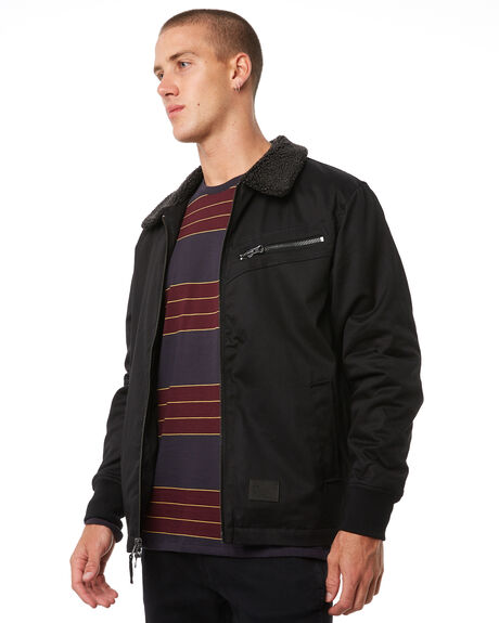 BLACK MENS CLOTHING IMPERIAL MOTION JACKETS - 201703009063BLK