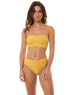GOLDRUSH WOMENS SWIMWEAR BILLABONG BIKINI BOTTOMS - 6581715GLD