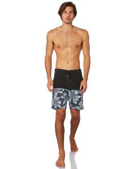 BLACK WHITE MENS CLOTHING VOLCOM BOARDSHORTS - A2511902BWH